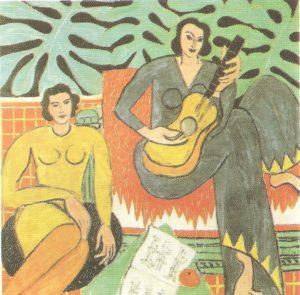Disegni da colorare -Matisse-Picasso