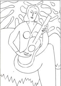 Disegni da colorare-Matisse