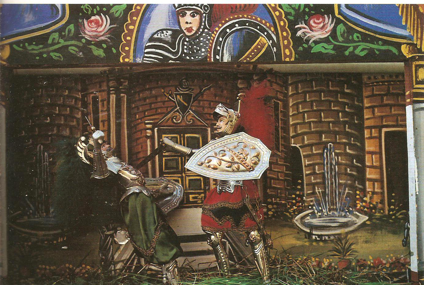 I Pupi o Paladini, le Marionette Siciliane