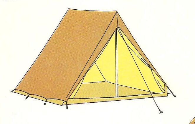Tenda da campeggio canadese-scelta e montaggio