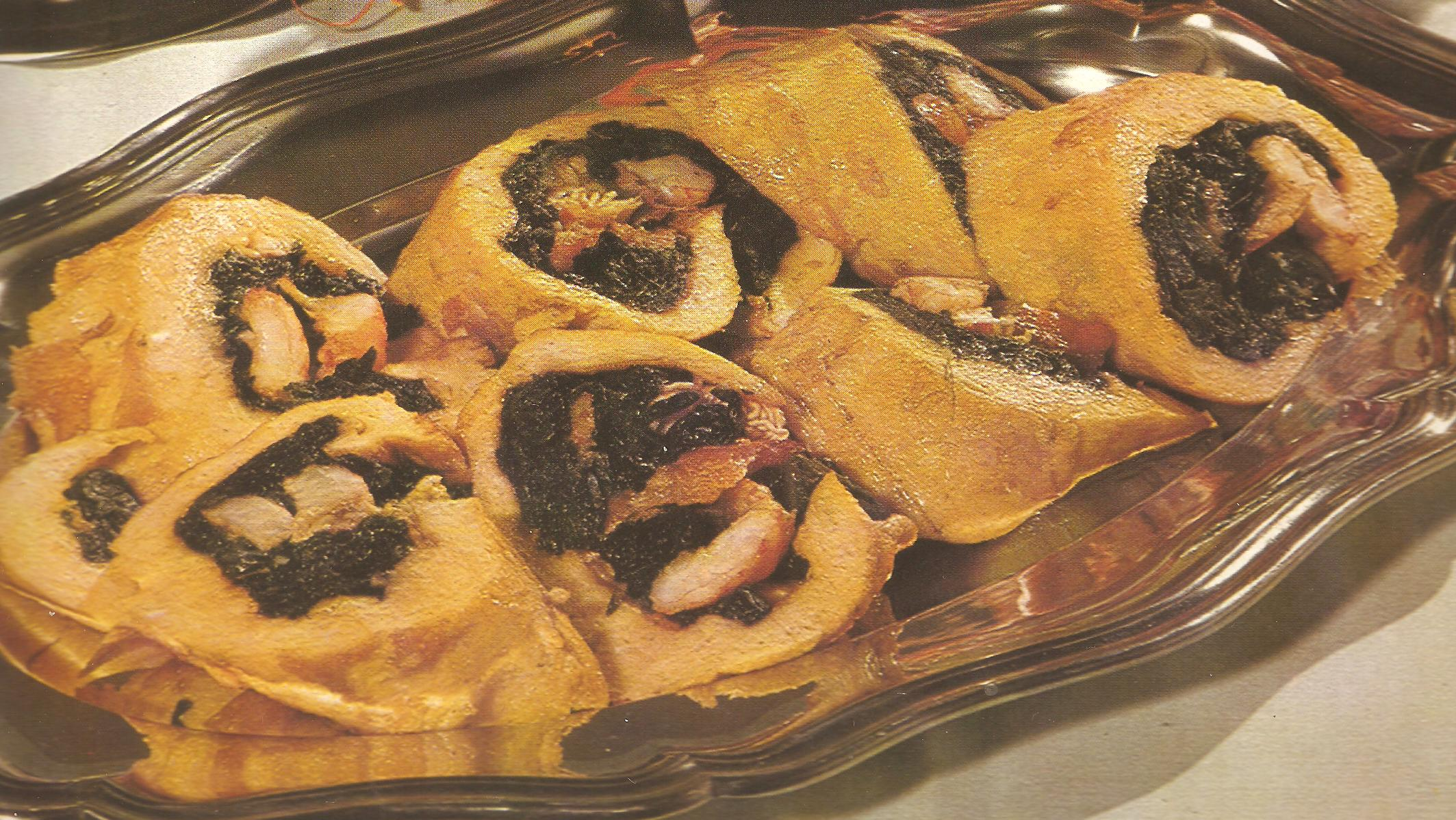 frittata party con gamberi e spinacifrittata delicata ed elegante