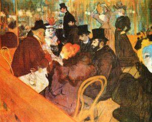 toulouse-lautrec, artisti dopo impressionismo, immagini pittura 800, arte 800, arte sec.XIX